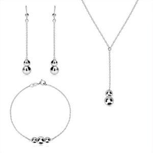 Levné sady a soupravy stříbrných šperků