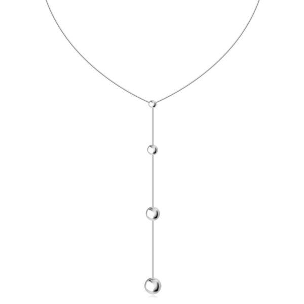 Stříbrný 925 náhrdelník – řetízek s hadím motivem