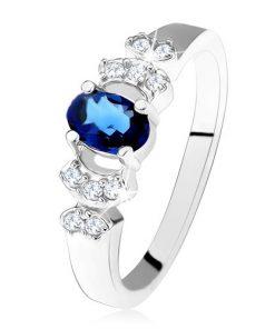 Lesklý prsten - stříbro 925