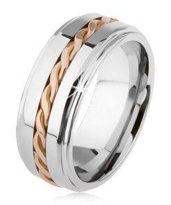 Lesklý wolframový prsten