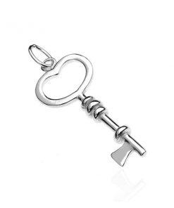 Přívěsek ze stříbra 925 - klíček