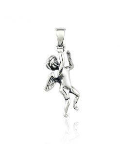 Přívěsek ze stříbra - andílek