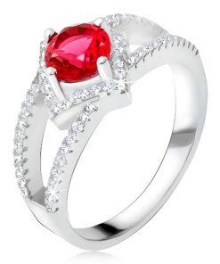 Prsten s rozdvojenými rameny