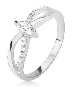 Prsten ze stříbra 925 - motiv nekonečna
