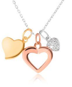 Stříbrný 925 náhrdelník - řetízek