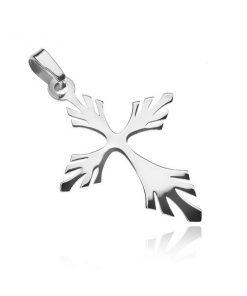Stříbrný přívěsek - rozvětvený křížek