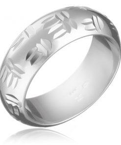 Stříbrný prsten 925 - indiánský motiv