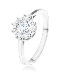 Zásnubní prsten - stříbro 925