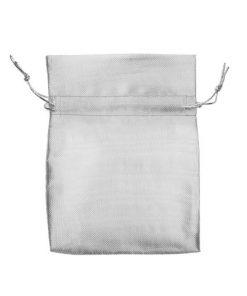 Dárková kapsička stříbrné barvy