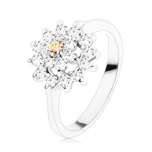 Prsten - stříbrný odstín