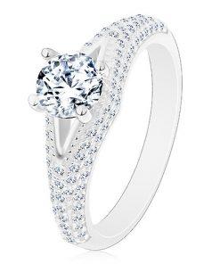 Prsten ze stříbra 925 - zásnubní
