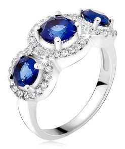 Prsten ze stříbra 925