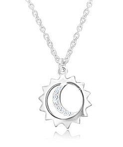 Stříbrný 925 náhrdelník - přívěsek na řetízku
