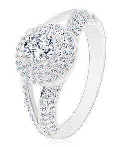 Stříbrný prsten 925 - zásnubní